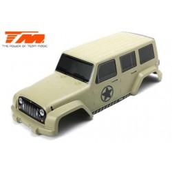 TM505322D Carrosserie - Monster Truck - Peinte - E6 J-Star - Jaune Desert