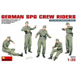 MINIART35054 German SPG Crew Riders 1/35