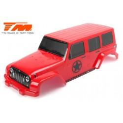 TM505322R Carrosserie - Monster Truck - Peinte - E6 J-Star – Rouge