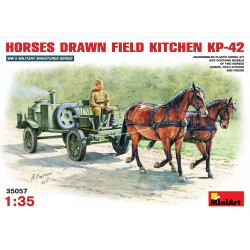 MINIART35057 Sov.Field Kitchen KP42 1/35