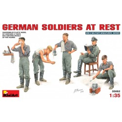 MINIART35062 Germ. Soldiers at Rest 1/35