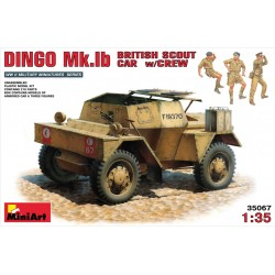 MINIART35067 DINGO Mk.Ib With Crew 1/35