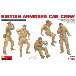 MINIART35069 Brit. Armored Car Crew 1/35