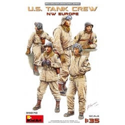 MINIART35070 U.S.Tank Crew (NW Eur) 1/35