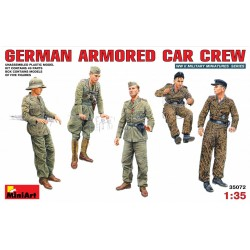 MINIART35072 Germ. Armored Car Crew 1/35
