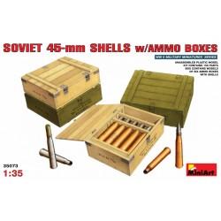 MINIART35073 Soviet 45mm Shellsw/box1/35