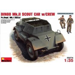 MINIART35074 Dingo Mk.II Scout Car 1/35