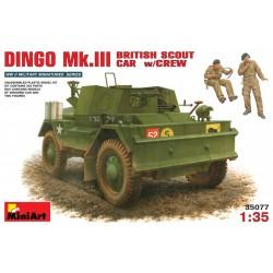 MINIART35077 Dingo Mk.III w/Crew 1/35