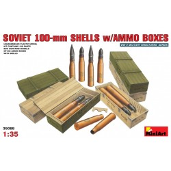 MINIART35088 Soviet100mm Shellsw/box1/35
