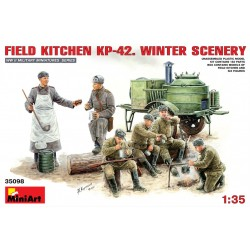 MINIART35098 Field Kitchen KP-42 1/35