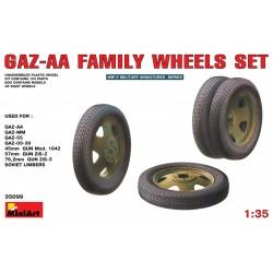 MINIART35099 GAZ-AA Wheels set 1/35