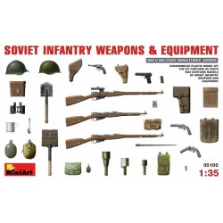 MINIART35102 Soviet Infant.Weapons & Equip. 1/35