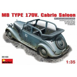 MINIART35103 MB Type 170V Cabrio Saloon 1/35