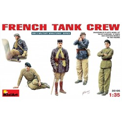 MINIART35105 French Tank Crew 1/35