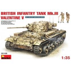 MINIART35106 British Valentine Mk V 1/35