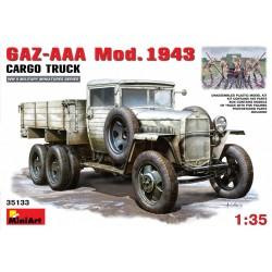 MINIART35133 GAZ AAA Mod 1943 Cargo Truck 1/35