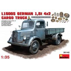 MINIART35142 L500S. German 1.5t 4x2 Cargo Tr1/35