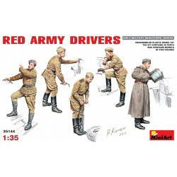 MINIART35144 Red Army Drivers 1/35