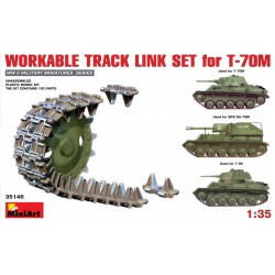 MINIART35146 Workable Track Link Set T70M 1/35