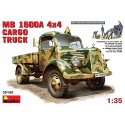 MINIART35150 MB L 1500 A 4x4 Cargo Truck 1/35