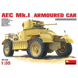 MINIART35152 AEC Mk1 Armoured Car 1/35