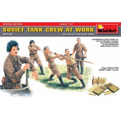 MINIART35153 Soviet Tank Crew at Work 1/35