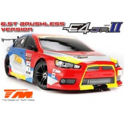 TM507006-EVX Auto - 1/10 Electrique - 4WD Touring - RTR - Etanche - Brushless - Team Magic E4JR II – EVX