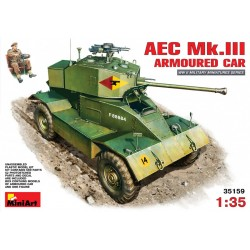 MINIART35159 AEC Mk 3 Armoured Car 1/35