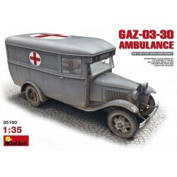 MINIART35160 GAZ-03-30 Ambulance 1/35