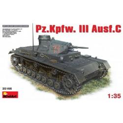 MINIART35166 Pz.Kfz.III Ausf. C 1/35