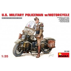 MINIART35168 US Military Police with Motor. 1/35
