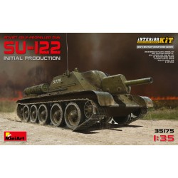 MINIART35175 SU122 Initial Production 1/35