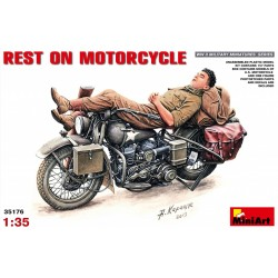 MINIART35176 Rest On Motorcycle 1/35