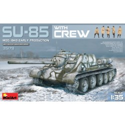 MINIART35178 SU-85 Mod. 1943 Early w/ Crew 1/35