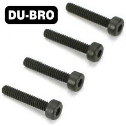 DUB2124 Screws - 3mm x 15 Socket Head Cap Screws (4 pcs per package)