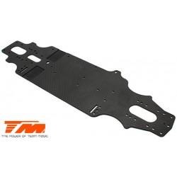 TM507101Pièce détachée - E4RS II - Châssis carbone 2.3mm