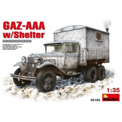 MINIART35183 GAZ-AAA with Shelter 1/35