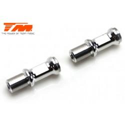 TM507108 Pièce détachée - E4RS II / EVO / JS II / JR II - Aluminium - Pivots de direction (2 pces)