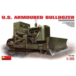 MINIART35188 US Armoured Bulldozer 1/35