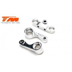 TM507126 Pièce détachée - E4RS II / EVO / E4RS III / PLUS - Aluminium 7075 - Renvois double de direction Set