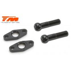 TM507130 Pièce détachée - E4RS II / EVO / E4RS III - Rotules de barre anti-rouli avant (2 pces)