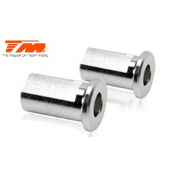 TM507131 Pièce détachée - E4RS II / EVO - Aluminium 7075 - Inserts pour support de bras (2 pces)