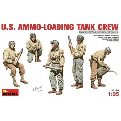 MINIART35190 US Ammo Loading Tank Crew 1/35