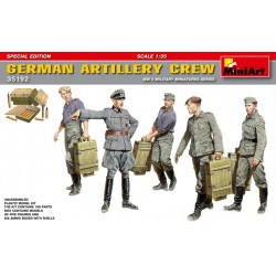 MINIART35192 Germ. Artillery Crew Spec. Ed. 1/35