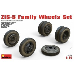 MINIART35196 ZIS-5 Family Wheels Set 1/35
