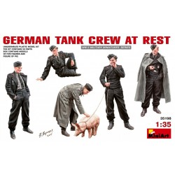 MINIART35198 German Tank Crew at Rest 1/35