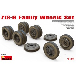 MINIART35201 ZIS-6 Family Wheels Set 1/35