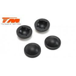 TM507161 Pièce détachée - E4RS II / EVO / JS II / JR II / E4RS III / PLUS - Membrane d'amortisseur (4 pces)
