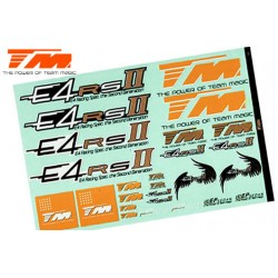 TM507165 Autocollants - E4RS II