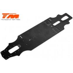 TM507201 Pièce détachée - E4RS II EVO - Châssis carbone 2.3mm